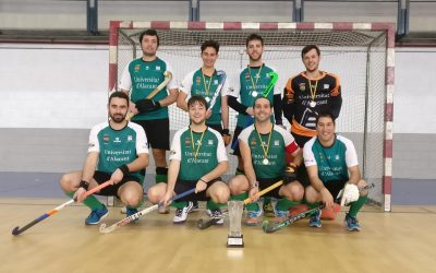 UA-San Vicente 'B' conquista la 2° Masculina de Hockey Sala
