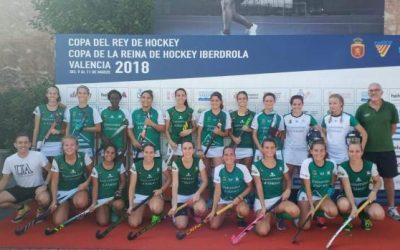 El sénior femenino, en la final de la copa de la FHCV